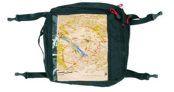 Ally Map Pocket zwart/transparant
